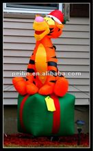 2012 NEWEST giant inflatable christmas tiger