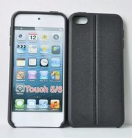 For Apple iPod Touch 5 / 6 Solid Color TPU Gel Soft Cover Case