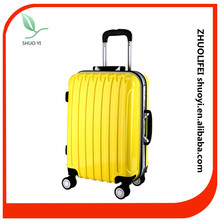 Bright Color Aluminum Trolley ABS Travel luggage