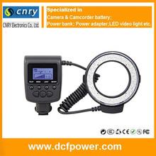 Rf-550 serie adecuado para camara DSLR 48pcs LED Light Kits rf550 con AA batteies fotografia