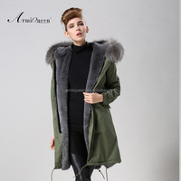 2015 wholesale fashion grey faux fur vest korean women winter coat elegant army green children/ women /men winter jacket