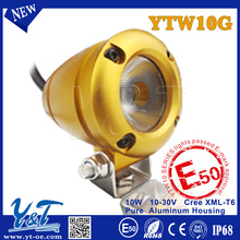led daylight Best Seller! led driving light 12v 10w auxiliary motorcycle light