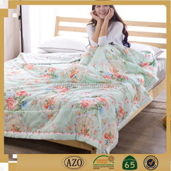 Custom size plain soft fabric bed sheet for family made in china
