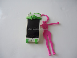 2015 Funny promotional phone holder with company Logo