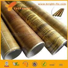 PVC Book Cover Roll Wood Grain