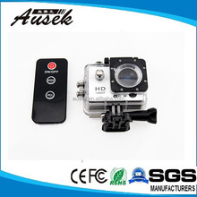 2.0 inch display 1080p full hd sport camera wifi with remote control