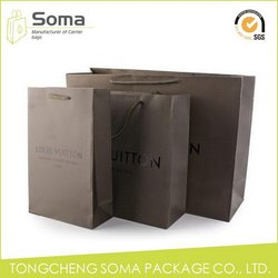 Excellent quality promotional 3d paper gift bag for birthday