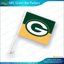 custom Green Bay Packers car flag
