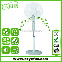 FS-1629 2015 new model 16 inch timer stand fan with round base