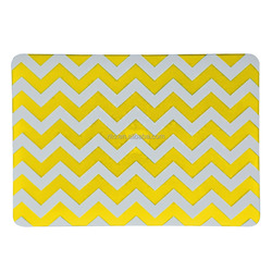 For Mac Air Case, Soft-Touch Chevron Pattern Laptop Rubberized Case for Macbook 12 case Retina