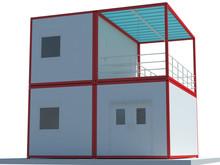 Modelo de casa de contenedores