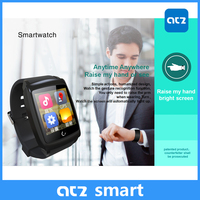 2015 New Product Wifi No Camera Android4.4 Smart Watch Sync Messages of Gmail Facebook GPS Watch