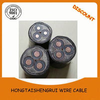 Insulated Rubber Sheathed Mining Soft Cable With Rated Voltage of 0.66 1.44 KV