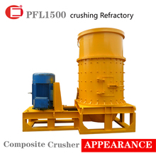 Best sales refractory material composite crusher for sale in foreign countries