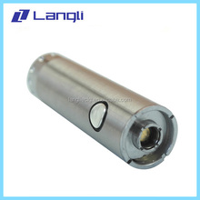 Wholesale e cigarette stainless steel langli passthrough usb micro 5pin 900mah battery OEM/ODM