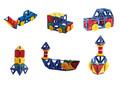 حار بيع لعب الاطفال 2015 en71 مرت!!! أعلى لعبة اطفال لعبة كتلة التعليمية 10 لعبةأفضل من المصنع icti