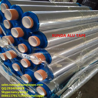 aluminum foil tape jumbo roll protection and waterproof for gas pipeline