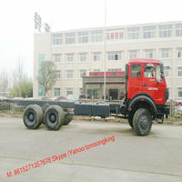 BEIBEN 25 T chassis Truck NG80 cab 6X6 truck 260~460HP Tom:008615271357675