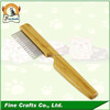 New design long handle wood pet grooming for dog comb