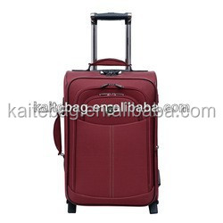 2015 Cheap designer Travel business Carry-on Red EVA compass luggage