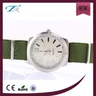 pulseira de nylon relógio para as mulheres da moda
