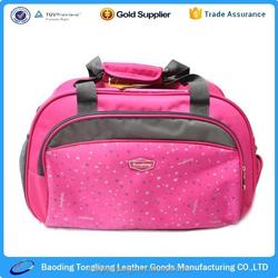 new design easy folding travel golf bag with water bottle holder