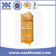 Customized storage industrial stacking wire container