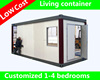 mobile room prefab camp house portable container homes