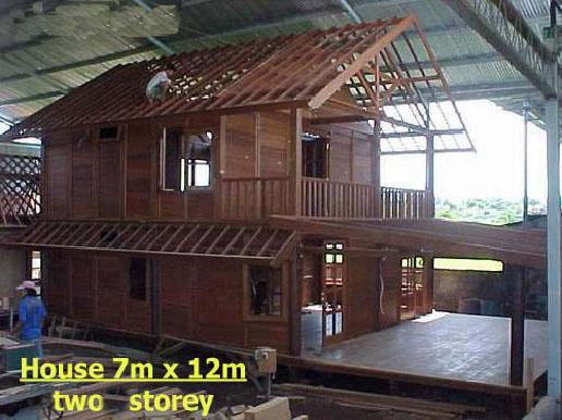 En bois maison pr fabriqu e bali maisons pr fabriqu es id du produit 100682150 - Maison prefabriquee en bois ...
