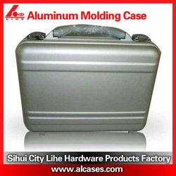 Aluminum zag tool box with lock