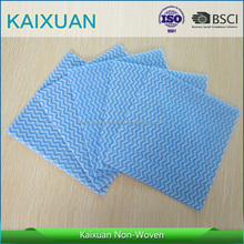 disposable lint free industrial wipe