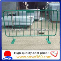 Cheap Temporary Barrier/stainless steel barricade in singapore