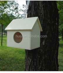 Latest design hanging wooden bird houses and bird nest