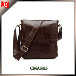 2014 vintage school leather satchels for kids wholesale