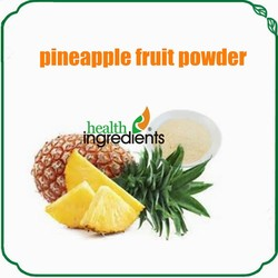 Buff fine powder Natural bulk dried pineapple fruit powder