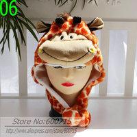 Женская шапка-ушанка 120pcs Coffee color