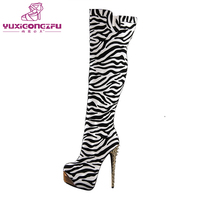 New factory wholesale beautiful elegant high heel sexy women colorful boots
