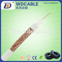 WD 75 ohms satellite coaxial cables siamese rg59
