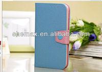 For Samsung i9220 Mega 6.3 Cell Phone Accessory Premium PU Leather Folio Flip Case