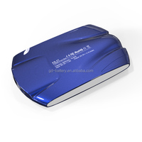 hot selling colorful Ferrari power bank 5000mAh with LED and shining finish for smartphones