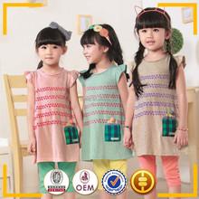 Meninas novo designer de moda vestidos vestidos encantadores para crianças de 11 anos