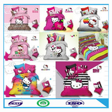 """High-quality cat print bedding set T/C 65/35 45*45 110*76 63"""" made in china"""