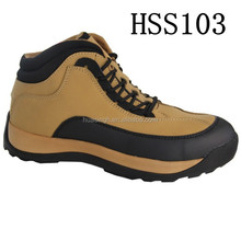 leather enhanced scratch resistant toe sport style outdoor safety working shoes for climbing