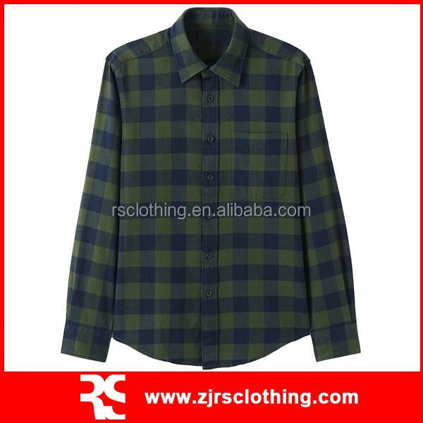 Cotton Plaid Flannel Shirt Mens Casual Shirt Buy Cotton