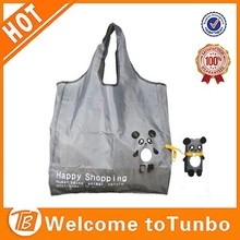 High Quality Reusable rolling Grocery Shopping Tote Bag animal shaped