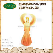 High quality resin material angel figurines for decoration
