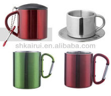 Double Wall Stainless Steel Espresso Coffee cups