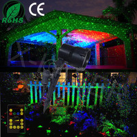 outdoor waterproof effect laser projector/landscape laser christmas lights outdoor lawn, garden, pool decoration light