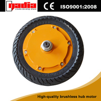 8 inch brushless electric hub motor small