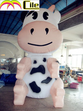 CILE 2015 hot selling inflatable milk cow customization model (advertising, sales promotion, simulator, events)